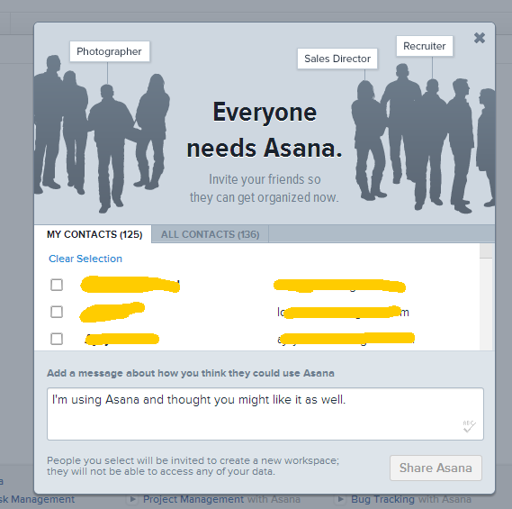 Asana-invitation